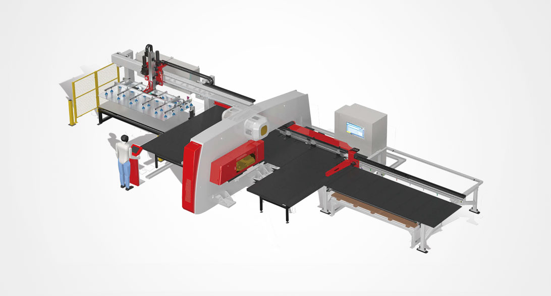 APM CNC Punch Loading & Unloading Unit