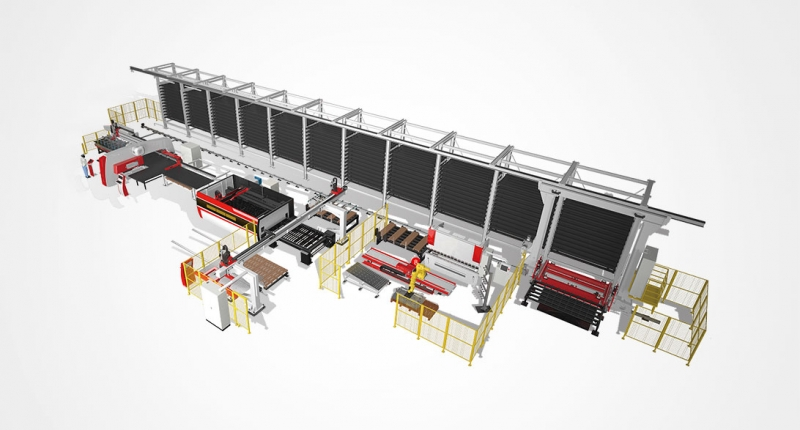 Large Scale FMS