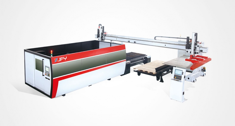ALM Laser Cutting Loading & Unloading Unit