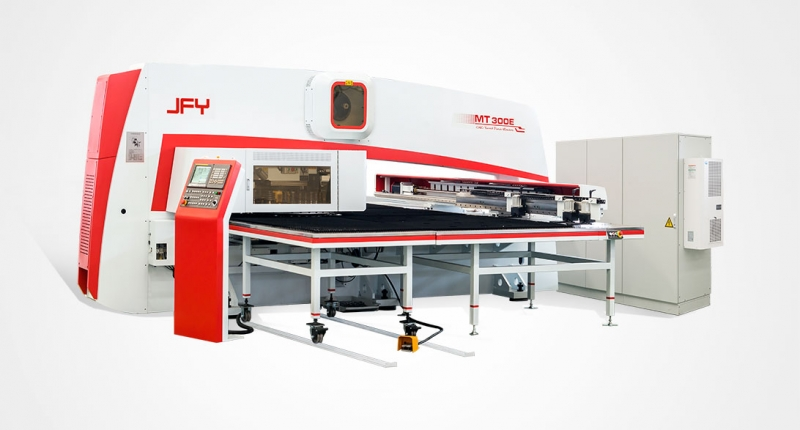 MT Series CNC Single-Motor-Driven Turret Punching Machine