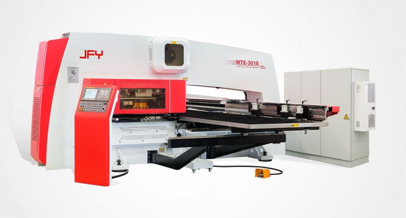 MTE 3018 CNC Single-Motor-Driven Turret Punching Machine